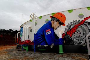 ETE - Estação de Tratamento de Esgoto - Central em funcionamento. Macaé (RJ). Data: 19/05/2016. Fotógrafo: Maurício Porão/Prefeitura de Macaé(RJ)