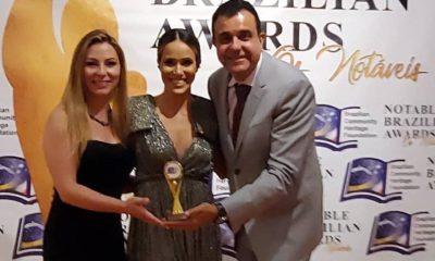 Alexandre Damiani recebeu esta semana o prêmio Notable Brazilian Awards.